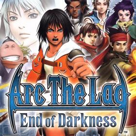 The cover art of the game Arc the Lad: End of Darkness.