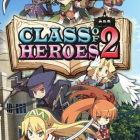 The cover art of the game Class of Heroes 2 (v2.00).