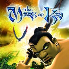 The cover art of the game The Mark of Kri.
