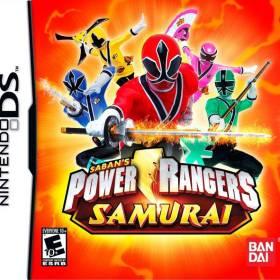 The cover art of the game Power Rangers Samurai.