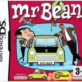 The cover art of the game Mr. Bean.