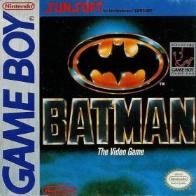The cover art of the game Batman.