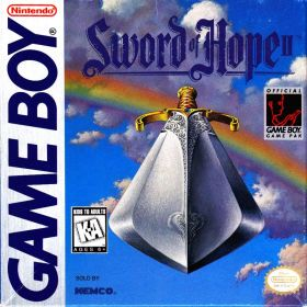 The cover art of the game The Sword of Hope II.
