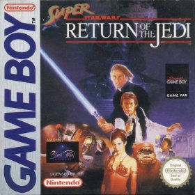 The cover art of the game Super Star Wars - Return of the Jedi .