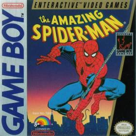 The cover art of the game The Amazing Spider-Man.