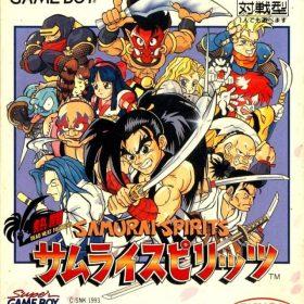 The cover art of the game Nettou Samurai Spirits .