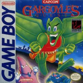 The cover art of the game Gargoyle's Quest - Ghosts'n Goblins .