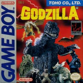 The cover art of the game Godzilla.