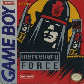 The cover art of the game Mercenary Force .