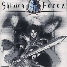 The cover art of the game Shining Force Neo (USA).