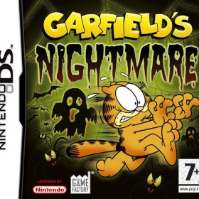 The cover art of the game Garfield's Nightmare .