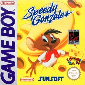 The cover art of the game Speedy Gonzales .