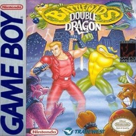 The cover art of the game Battletoads Double Dragon - The Ultimate Team.