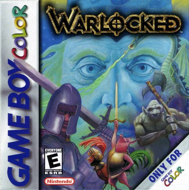 The coverart image of Warlocked