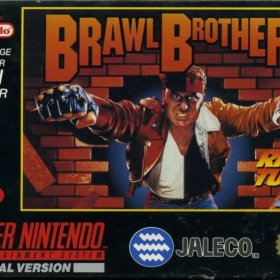 The cover art of the game Brawl Brothers: Rival Turf! 2.