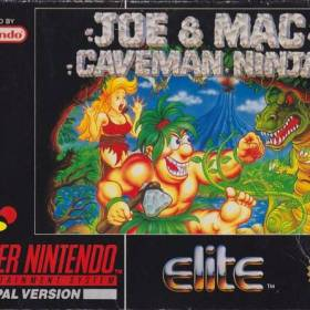 The cover art of the game Joe & Mac - Caveman Ninja .