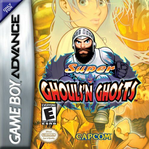 The coverart image of Super Ghouls N Ghosts