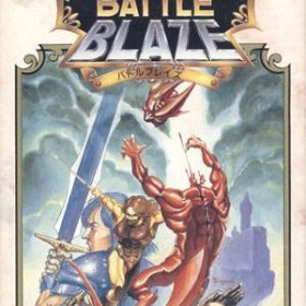The cover art of the game Battle Blaze.
