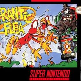 The cover art of the game Frantic Flea .
