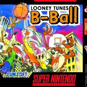 The cover art of the game Looney Tunes B-Ball .