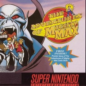 The cover art of the game Mighty Max.