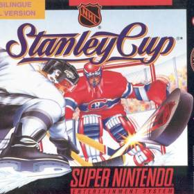 The cover art of the game NHL Stanley Cup .