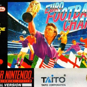 The cover art of the game Euro Football Champ.