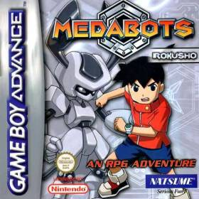 The cover art of the game Medabots - Rokusho Version.