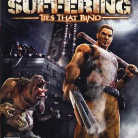 The cover art of the game The Suffering: Ties That Bind.