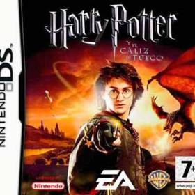 The cover art of the game Harry Potter and the Goblet of Fire .