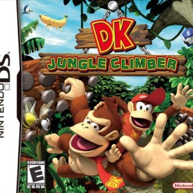 The cover art of the game DK: Jungle Climber.