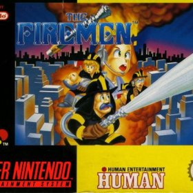 The cover art of the game The Firemen.