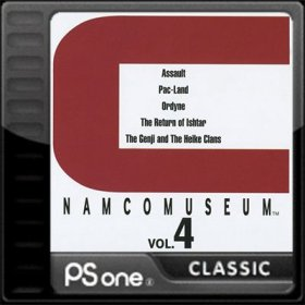 The coverart thumbnail of Namco Museum Vol. 4