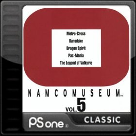 The coverart thumbnail of Namco Museum Vol. 5