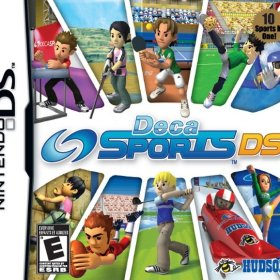 The cover art of the game Deca Sports DS.