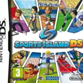 The cover art of the game Sports Island DS.