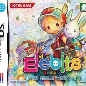 The cover art of the game Elebits: The Adventures of Kai & Zero .
