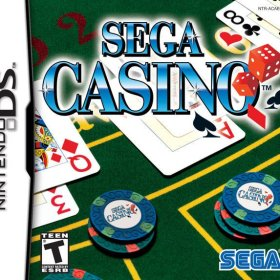 The cover art of the game Sega Casino.