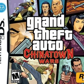 The cover art of the game Grand Theft Auto: Chinatown Wars.