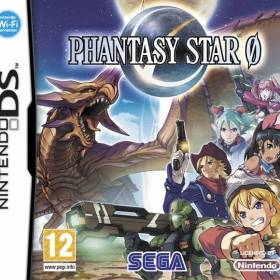 The cover art of the game Phantasy Star 0 .