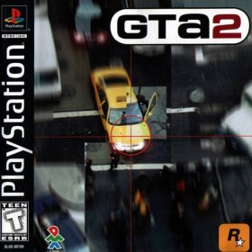 The cover art of the game Grand Theft Auto 2.