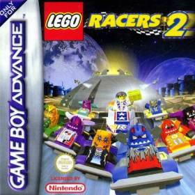 The cover art of the game Lego Racers 2.