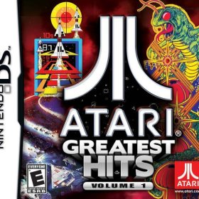 The cover art of the game Atari Greatest Hits: Volume 1.