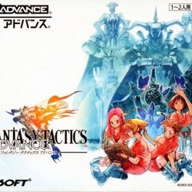 The cover art of the game Final Fantasy Tactics Advance.