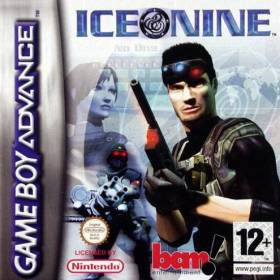 The cover art of the game Ice Nine.