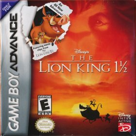 The cover art of the game Disney's Lion King.
