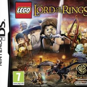 The cover art of the game LEGO The Lord of the Rings.