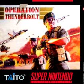 The cover art of the game Operation Thunderbolt.