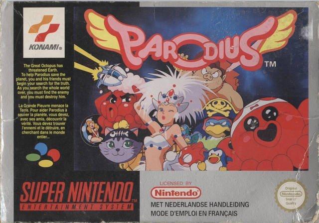 Parodius - Non-Sense Fantasy