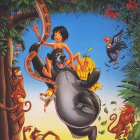 The cover art of the game The Jungle Book.